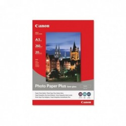 CANON Etui 20 Papier Photo PaperPlus SG-201 Semi Glossy A3 260g