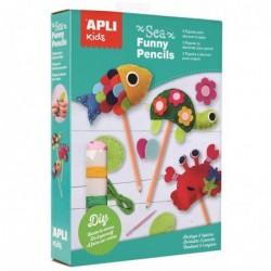 APLI Kit Funny Pencils animaux