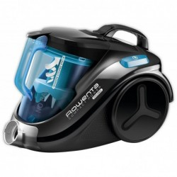 ROWENTA Aspirateur RO3731EA Compact Cyclonic Sans sac No bleu/noir