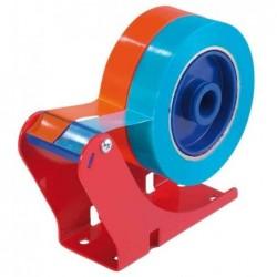 TESA Dévidoir de table 6012 en Acier Rouge pour 60 x 50 mm ou 2 60 x 25mm