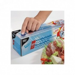 PAPSTAR Film plastique alimentaire 45 cm x 300 m 7,5 mu
