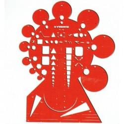 """MINERVA Trace Symbole 'Circonférence"""" Grand Modèle N° 19"""
