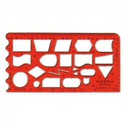 MINERVA Trace symbole Technique  n° 45a Organigraphe