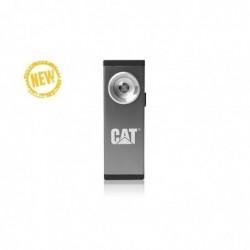 CAT Lampe de poche ultra-fine rechargeable 200 Lumens Base aimantée Aluminium
