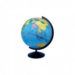 SAFETOOL Globe terrestre plastique dia. 32 cm (GM) surface PVC solide intérieur PS