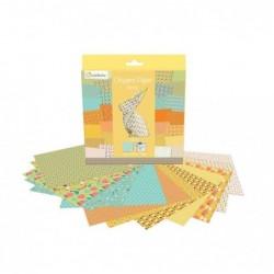AVENUE MANDARINE Origami Paper Spring