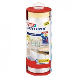 TESA Film de masquage Easy Cover Premium, 2600 mm x 17 m