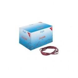 LÄUFER RONDELLA Élastiques en carton 1000 g, 80 x 4 mm rouge