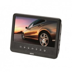 AEG Lecteur DVD 7 pour voiture AEG Car Cinema DVD 4555 2 Ecrans Noir