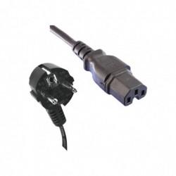 KONNI Câble d'alimentation Secteur -IEC C15 1.8m 0.75mm²