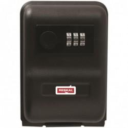 RESKAL Garde clé à combinaison, 3 chiffres. Dim L14,5 x H10 x P5,7 cm.