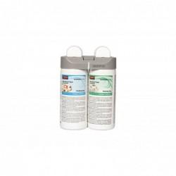 RUBBERMAID Pack 2 recharges Désodorisant pour Microburst Duet Purifying Spa et Energising Spa