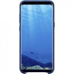 SAMSUNG Coque Originale Alcantara pour G955F Galaxy S8+ Blue