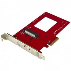 """STARTECH.COM Adaptateur PCIe U.2 - PCI Express 3.0 x4 - pour SSD U.2 NVMe DE 2,5"""""""
