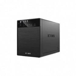 """ICY BOX Boîtier Externe 4 x 3,5"""" système JBOD IB-3640SU3 pour disque dur"""