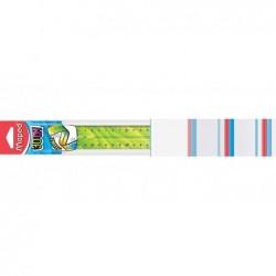 MAPED Règle plate Twist'n Flex DECOR Incassable 30 cm Coloris Aléatoire