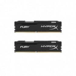 KINGSTON HyperX - FURY 8 Go (2x4 Go) 2400 MHz DDR4 CL15 1.2V Black