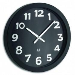 TFA-DOSTMANN TFA 60.3506 Horloge Radio Pilotée 40cm à gros chiffres blanc sur fond noir