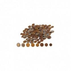 SAFETOOL sachet 160 pièces de Monnaie Plastique Eurecole 2