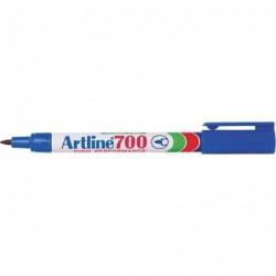 """ARTLINE Marqueur  """"700"""" permanent indélébile pointe conique 0,7 mm bleu"""