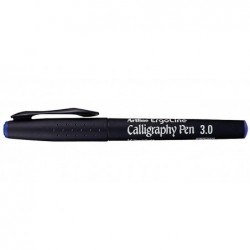 "ARTLINE Marqueur  ""Calligraphy Pen"" pointe 3 mm bleu"