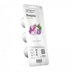 EMSA Click and Grow Lot de 3 Recharge Pétunias pour Smart Garden