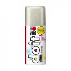 MARABU Peinture aérosol do it 150 ml GLITTER Argent paillette