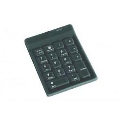 KEYSONIC Clavier numérique en silicone,, avc câble, port USB