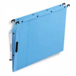 L'OBLIQUE AZ Boîte de 25 Dossiers suspendus VELCRO V pour armoire, fond 15mm Vert