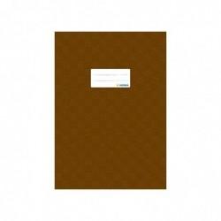 HERMA protège-cahiers, format A4, en PP, couverture marron