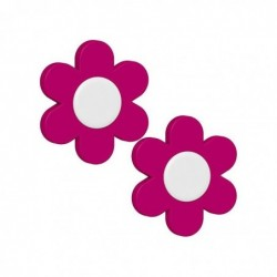 EMSA Deko-Clip LANDHAUS Lot de 2 clip Floral 4,5 cm Rose