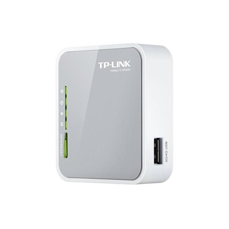 TP-LINK Routeur portable 3G/WAN WiFi 11n 150MBPS