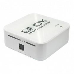 LINDY Splitter Audio Tosk optique, 4 ports