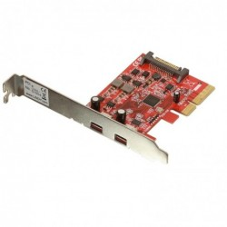 LINDY Carte PCIe USB 3.1, 2 ports