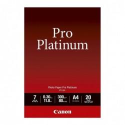 CANON Paquet de 20 Feuilles Papier photo PT-101 A4 300 g