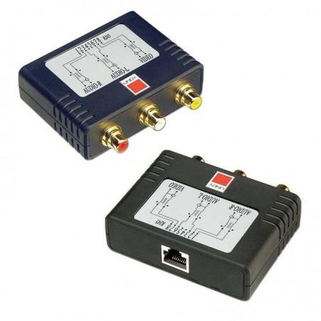 LINDY Kit extender (amplificateur) audio-vidéo - CAT5e/6, 600m