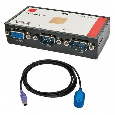 LINDY Sélecteur VGA automatique 2:1 -  avec télécommande