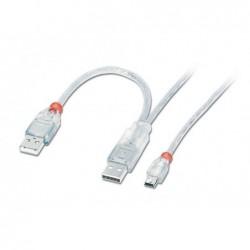 LINDY Câble USB 2.0 Dual...