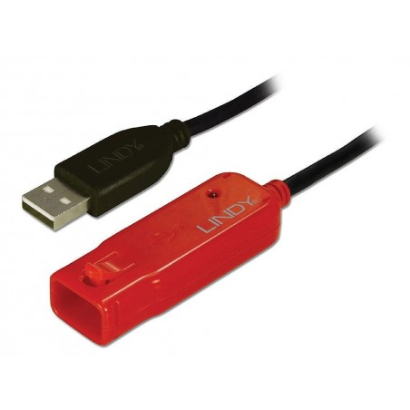 LINDY Kit de départ: rallonge active USB 2.0 Pro, 8 mètres
