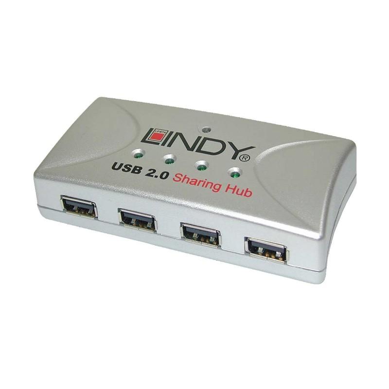 LINDY Hub USB 2.0 4 ports