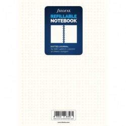 FILOFAX Recharge pour carnet de notes rechargeable format A5, (points), coloris blanc