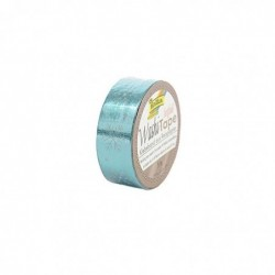 "FOLIA Ruban autocollant Washi-Tape ""Noël"", bleu glace flocon"