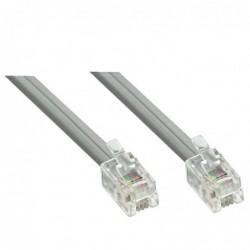 LINDY Câble RJ10 4/4 m/m, 5m