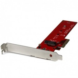 STARTECH.COM Adaptateur PCI Express x4 vers SSD M.2 PCIe