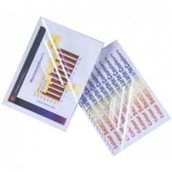 GBC Lot de 100 ColorClear Plats de couverture 180 microns Coloris Fumé