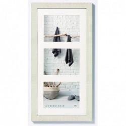 WALTHER Cadre Photo Home 3x15x20 bois blanc crême