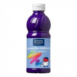 LEFRANC BOURGEOIS Gouache liquide 1.000 ml, violet