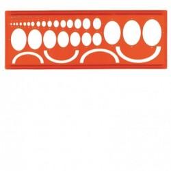 MINERVA Ellipses 45° Trace-Ellipses n°44/45° Orange