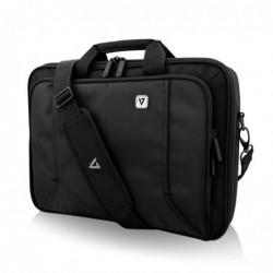 """V7 Sacoche Frontloader pour Ordinateur Portable 16"""" 40,6 cm Noir/Gris Accents"""