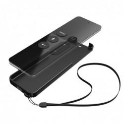 "HAMA Pochette de protection ""Black Shell"" pour Apple TV 4 Siri Remote Noire"